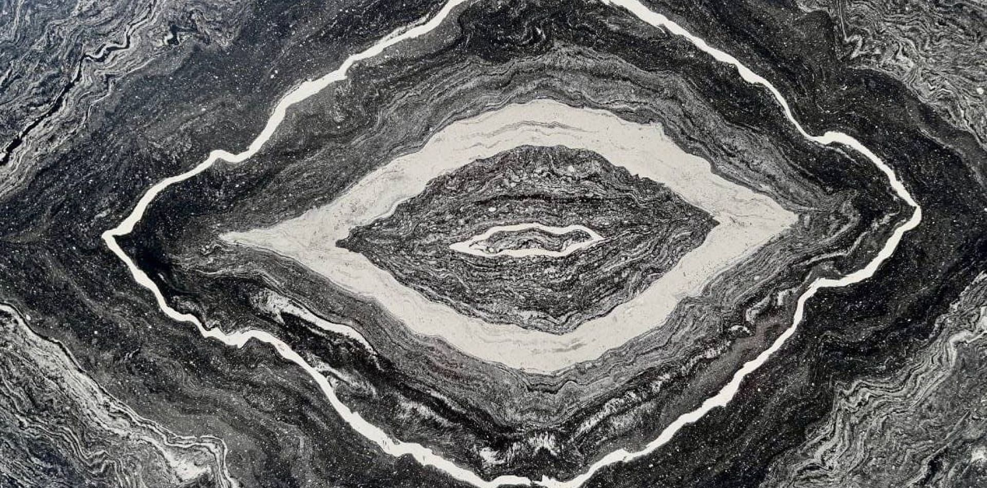 The effect of polished marble